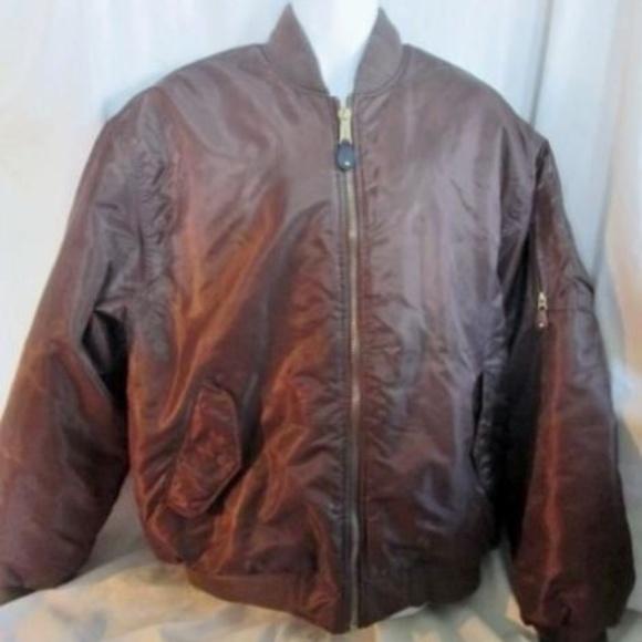 world-wide renown outlet online discount shop MENS DELF USA Reversible Flight BOMBER Jacket Coat